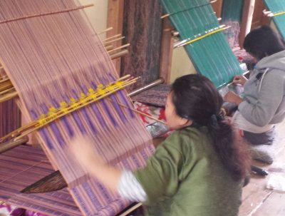 National Handloom Development Project; operated by National Women's Association of Bhutan